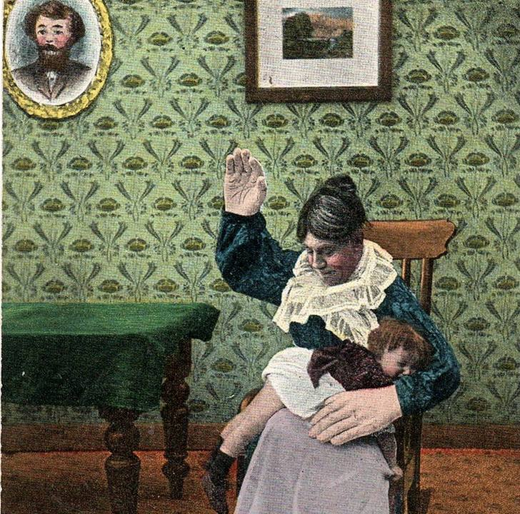 Is it OK to spank a misbehaving child once in a while?